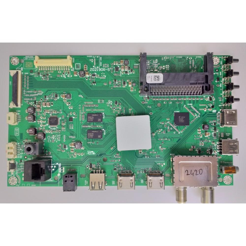 Z02190R-5, SLAAJZ, Beko B49L 8860 5S, Main Board, Ana Kart