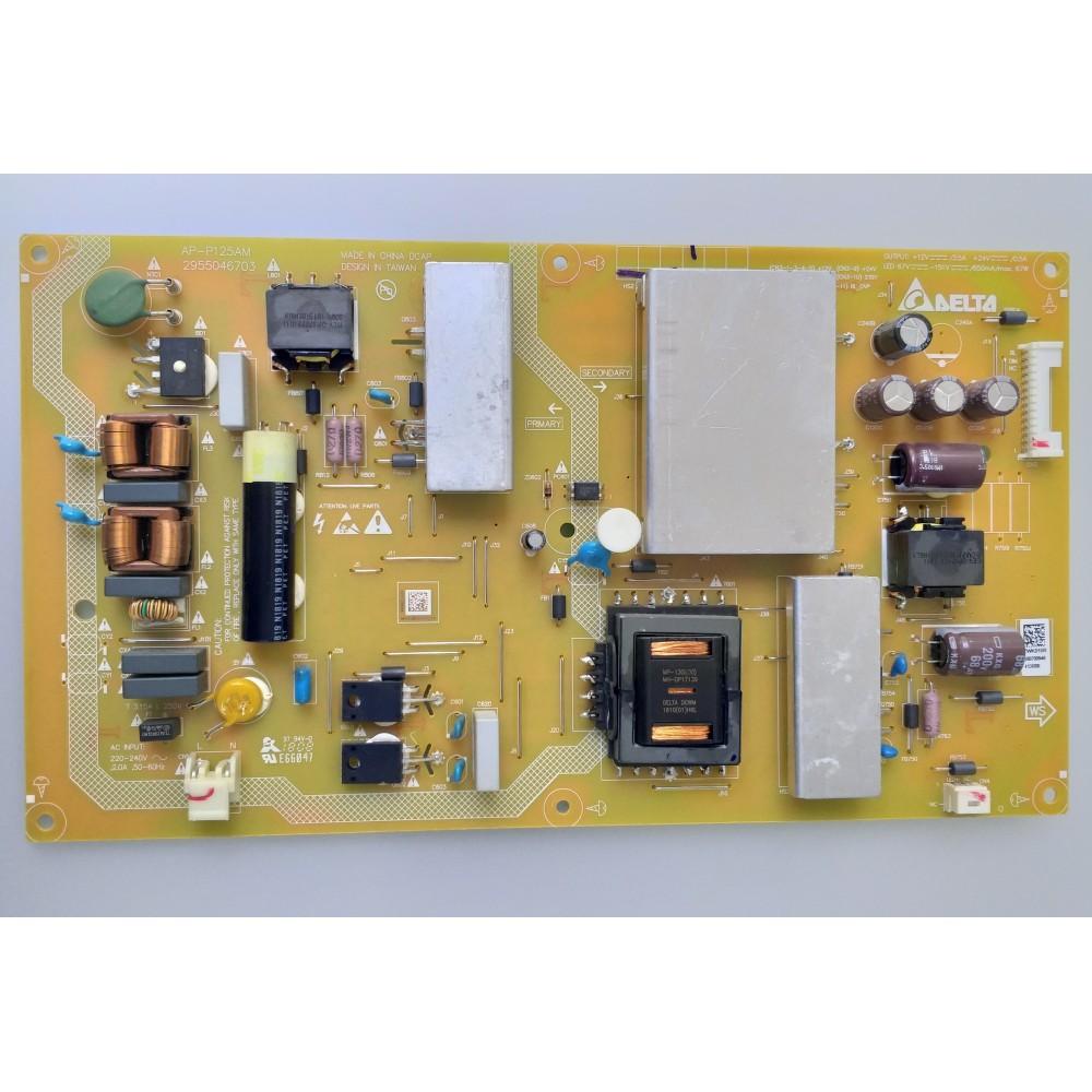 AP-P125AM, 2955046703, ZWK910R, Grundig 49VLX 7810BP, Arçelik 49L 8840 5B, Power Board