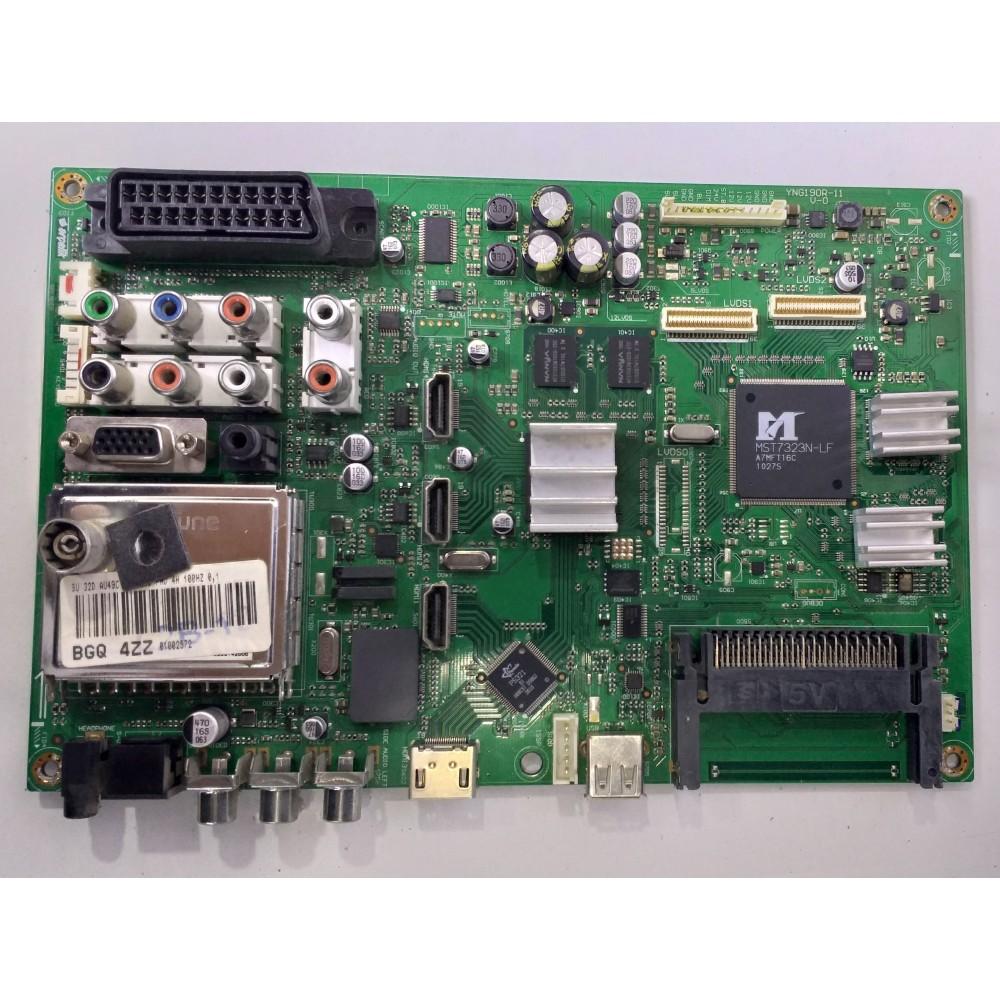 YNG190R-11, BGQ 4ZZ, YNG190R-11 V-0, Main Board, T315HW05 V.0, BEKO F 82-208 FHD LED TV