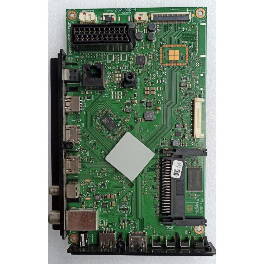 ZG7190R-2, ZG7190R-4, K6XDZZ, GRUNDIG 43 CLE 6645 AL MAIN BOARD