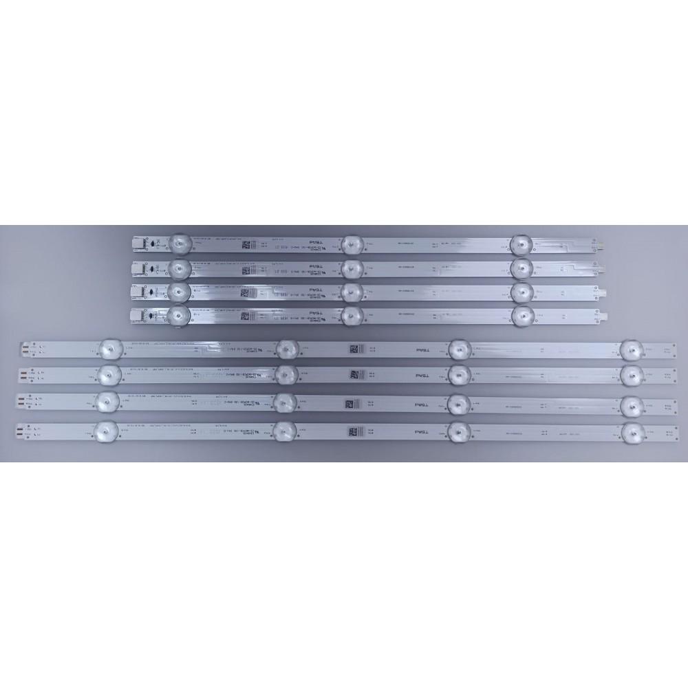 ARÇELİK_43_CRYSTAL_1X3+1X4_L_1313FC_7S1P, REV.V0 , ARÇELİK_43_CRYSTAL_1X3+1X4_R_1313FC_7S1P, REV.V0, ARÇELİK, ZXZ65600-AA, 43VLX7730SP, 057T43-C21, SIFIR ORJINAL LED