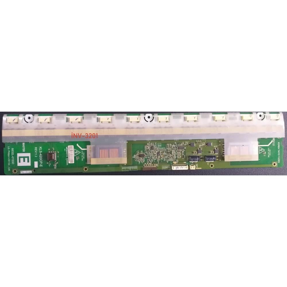 6632L-0153D MASTER , KLS-420CP-E , 6632L-0154D SLAVE , KLS-420CP-F , Inverter Board