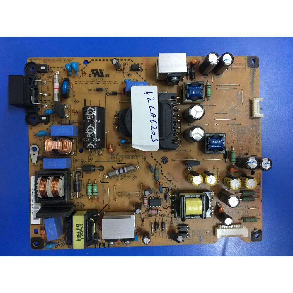 EAX64905401 (1.5), EAX64905401 (1.6), EAY62810601, LGP42-13R2, LG 42LA620S, POWER BOARD, Besleme, LC420DUE-SFU1