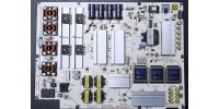 EAY63348801, B12D198801, LGP55F-140P REV1.0, LC550LUD-LGP2, POWER BOARD, LG 55EC930V BESLEME