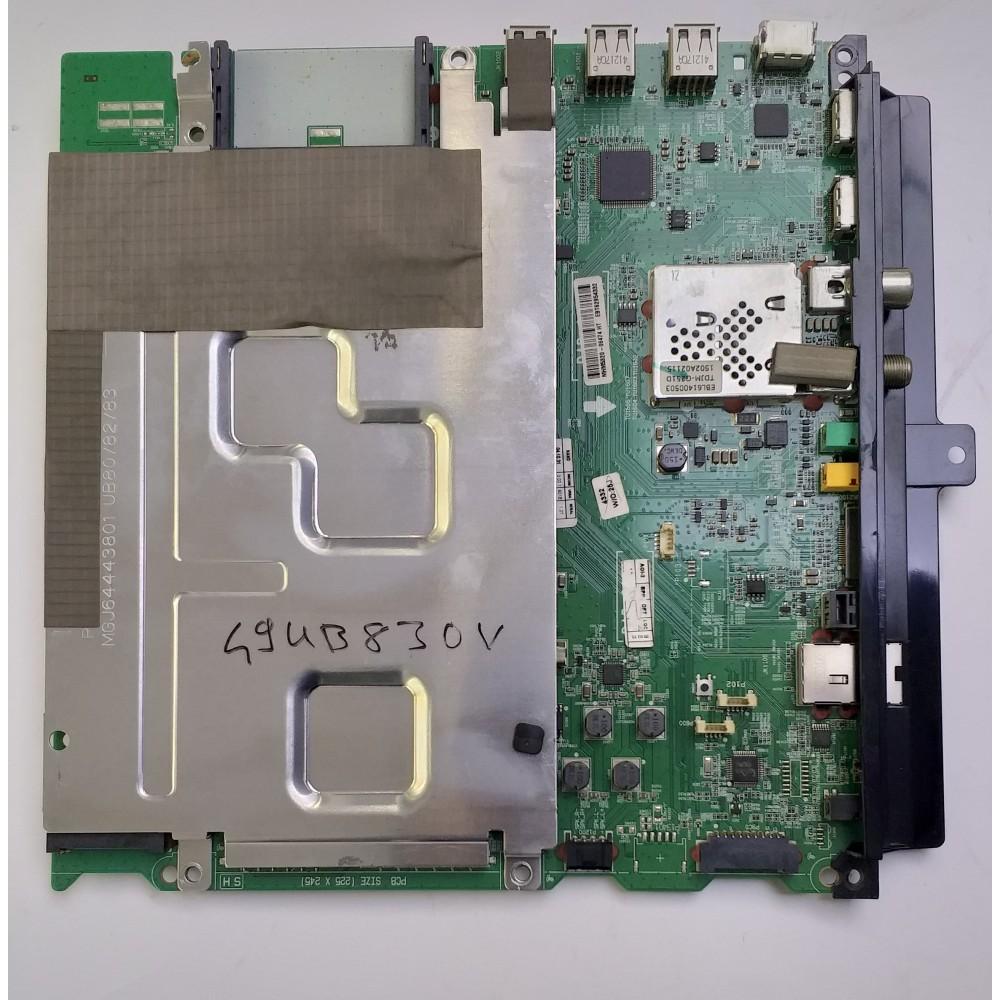 EBT62954332, EAX66085703 (1.0), Main Board, LG Display, LC490EQE-XGF2, LG 49UB830V
