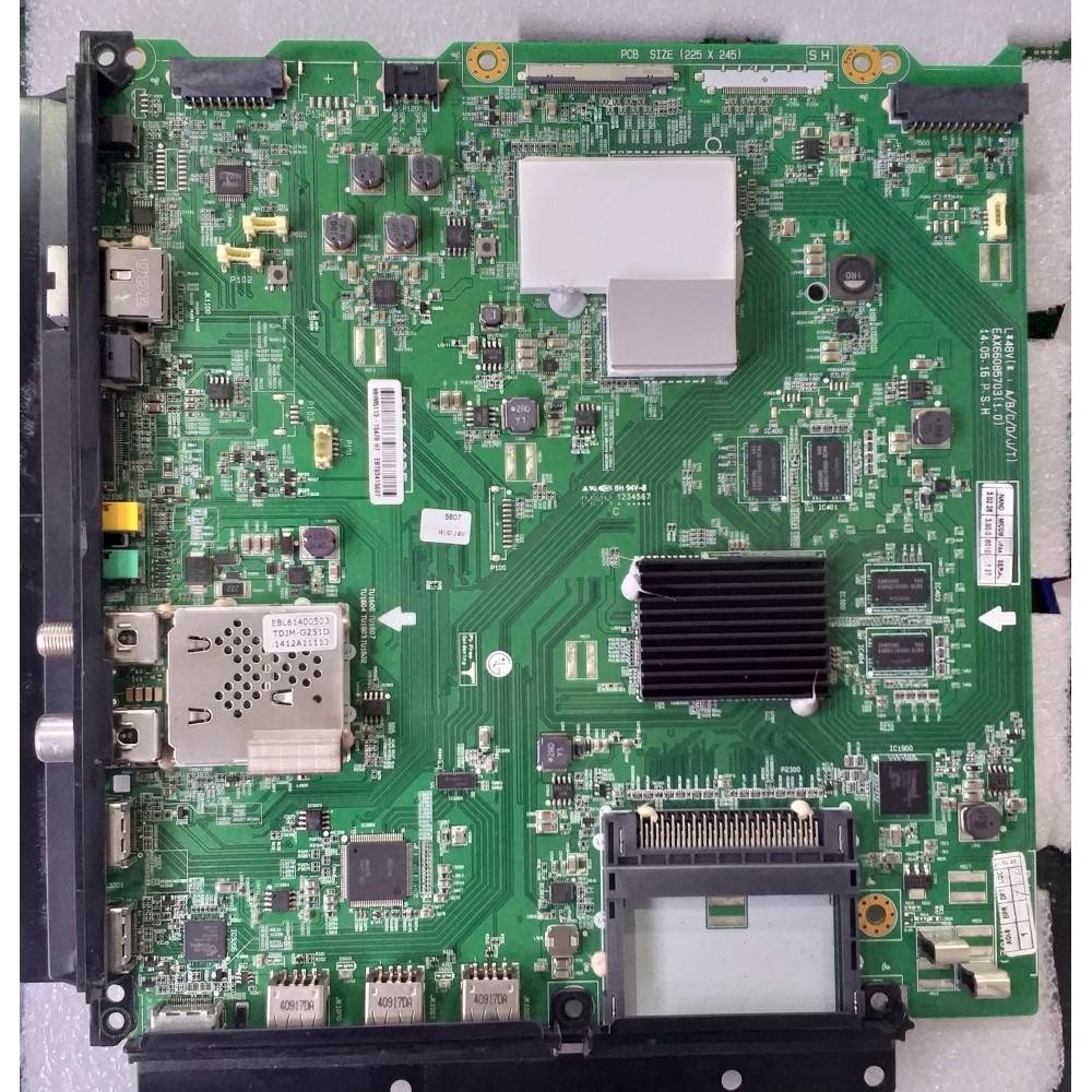 EBT63415602, EBT63415607, EBU62449714, EBU63650401, EAX66085703 (1.0) Main Board LG Display LC420EQE-PGM1 LG 42UB820V-ZH