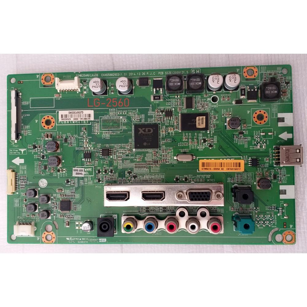LG 32MB25HM-P, EAX65882903 (1.0) , EBT63153217, NC320DUN-VBBP1, Main Board, Ana Kart