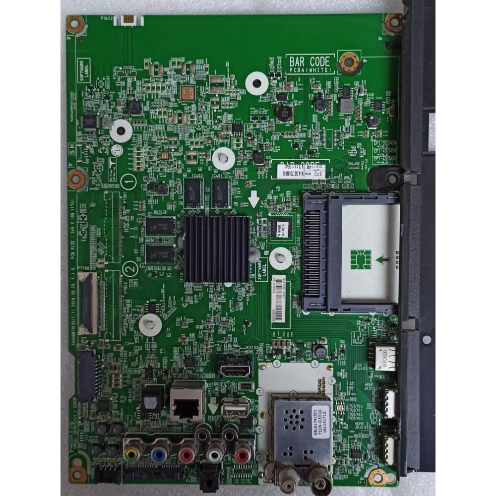 EAX66818105 (1.1), 71EBT000-01Z5, 58UH635V,  58UH635, LG MAIN BOARD, ANA KART