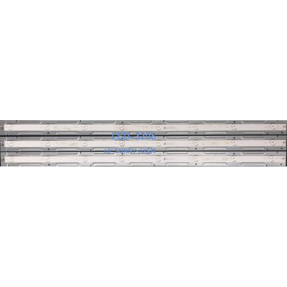 YAL13-00830300-02, TK-42INCH3X8, TK-40ınch3X8, SUNNY SN40DAL010/ 0202, SN040DLDAT017-LED BAR