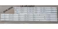 LG 49LH604V- 6916L-2586A 6916L-2588A 6916L-2587A 6916L-2589A 49LH604V , L, SIFIR LED BAR TAKIMI