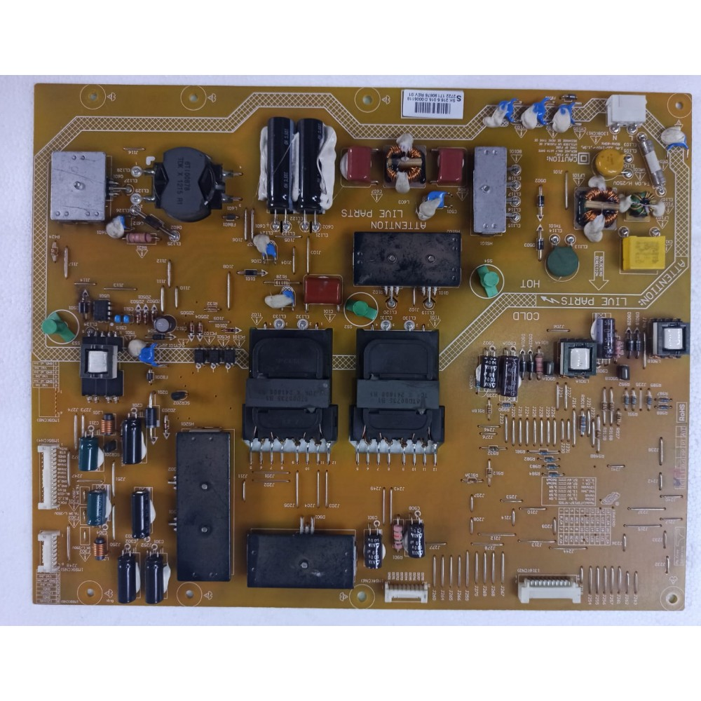 FSP197-4FS01, 2722 171 90676 REV.01, Philips 55PFL7007, Power Board, Besleme