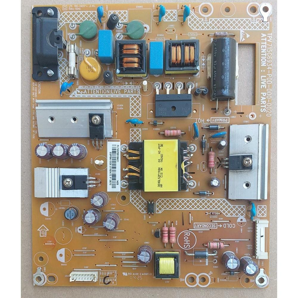 715G6934-P0D-000-0020, PHILIPS 40PFK4009/12 POWER BOARD, BESLEME KARTI
