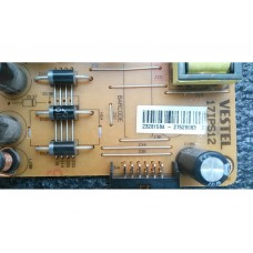 17IPS12 , 23281584 , VESTEL , SEG , 43SC7600 SMART , Power Board , Besleme Kartı , PSU