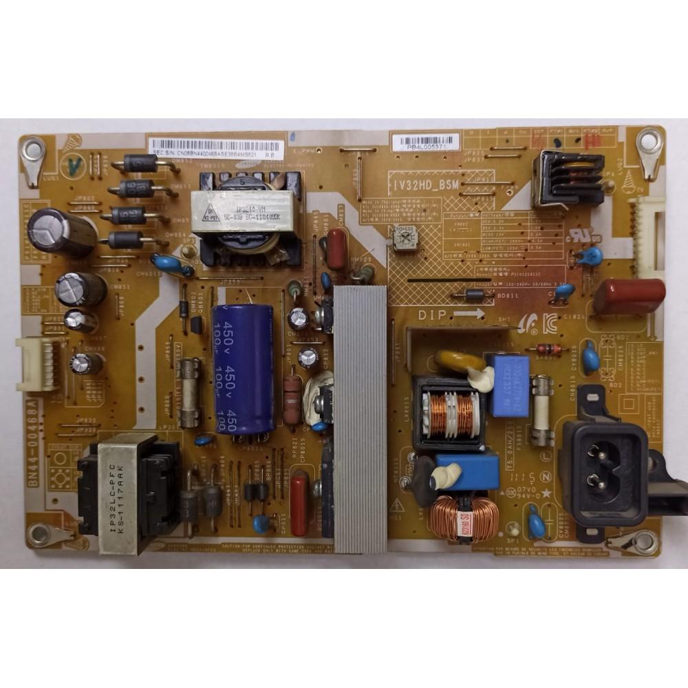 BN44-00468A , PSIV121411C , REV 1.0 , POWER BOARD , SAMSUNG