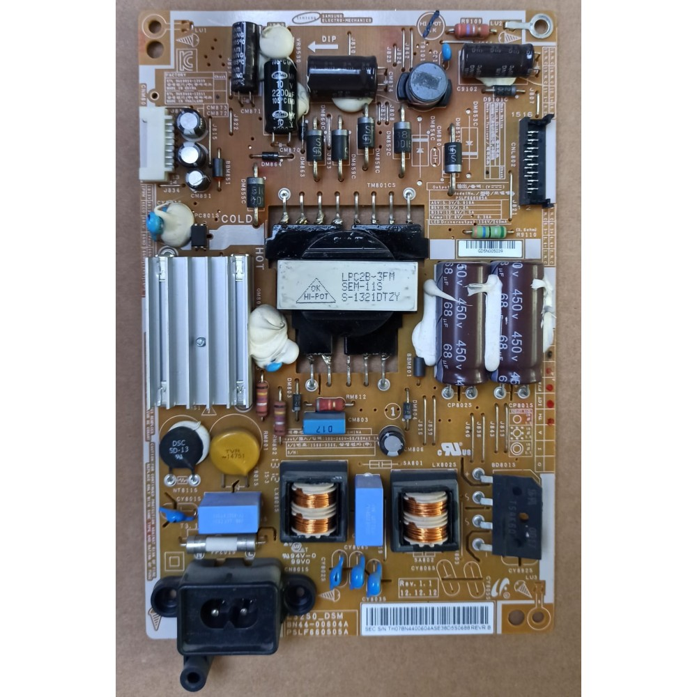 BN44-00604A, PSLF660S05A, POWER BOARD