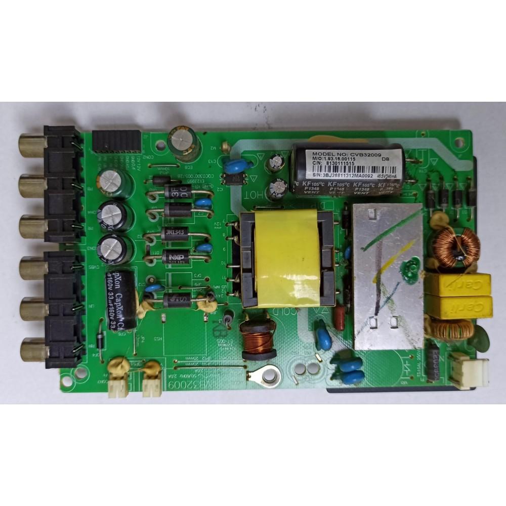 CVB32009, Sanyo LE82S16HM, Power Board, Besleme, LC315TU 4A 01