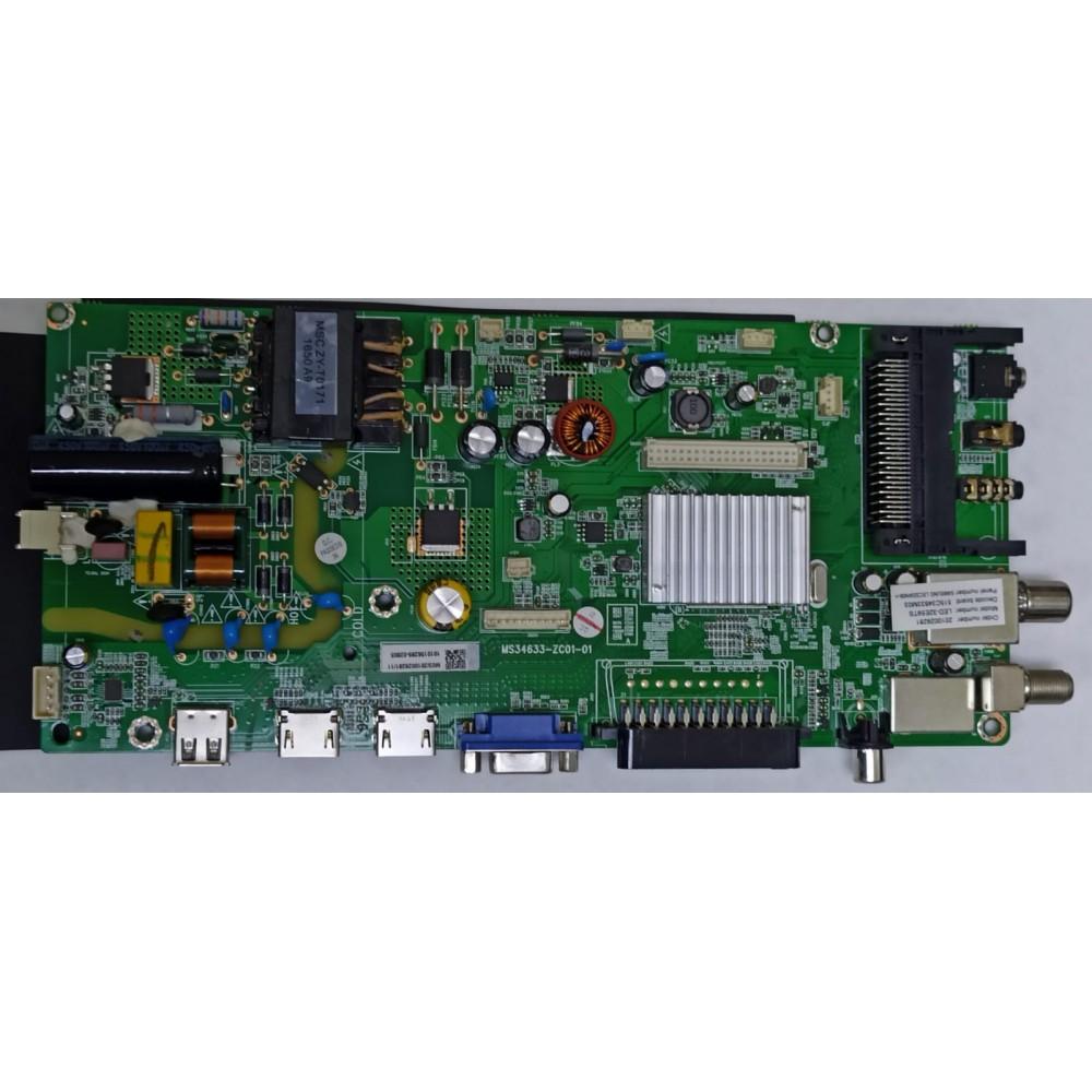 MS34633-ZC01-01, VASIN LED-32E59TS ANA KART, MAIN BOARD