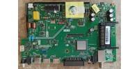 17AT010V1.0, Y.M ANAKART 17AT010 40''-43 S2 V1.0 MNL, SHEEN SH40DLK010/0202 Main Board, Ana Kart, LSC400HN02