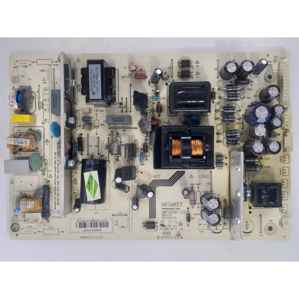 MEGMEET, MIP550D-CX, MIP550D-CX1, POWER BOARD, BESLEME