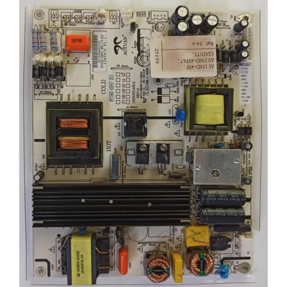 AY156D-4SF, AY156D-4SF67, 12AT073, 3BS0054914, REV 1.0, POWER BOARD