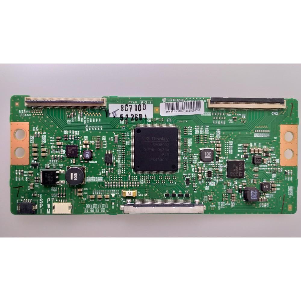 6870C-0552A, 6871L-5226D, V15 49UHD TM120 Ver0.4, Grundig A49L 8840 5BB, T-Con Board