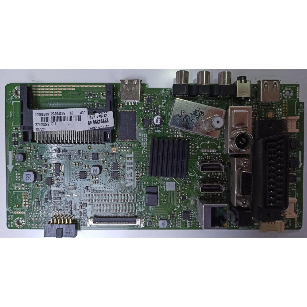 23294395, 23294396, 17MB96, 110814R2, Main Board, Vestel, VES400UNVS-2D-N03, 23286558, VESTEL SMART 40FA7100