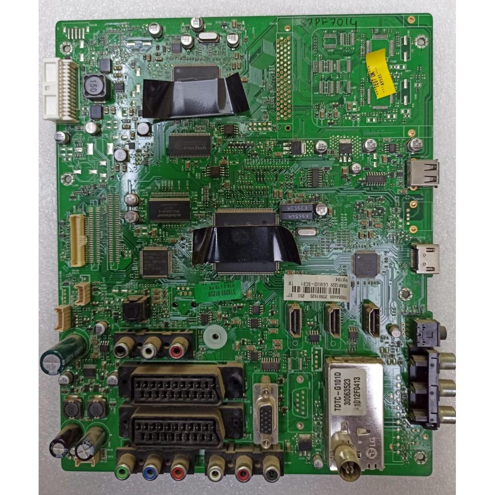 17MB35-4, 20551920, 10064489, VESTEL 37PFL7014, LGWUD-SCB1, Main Board, Ana Kart