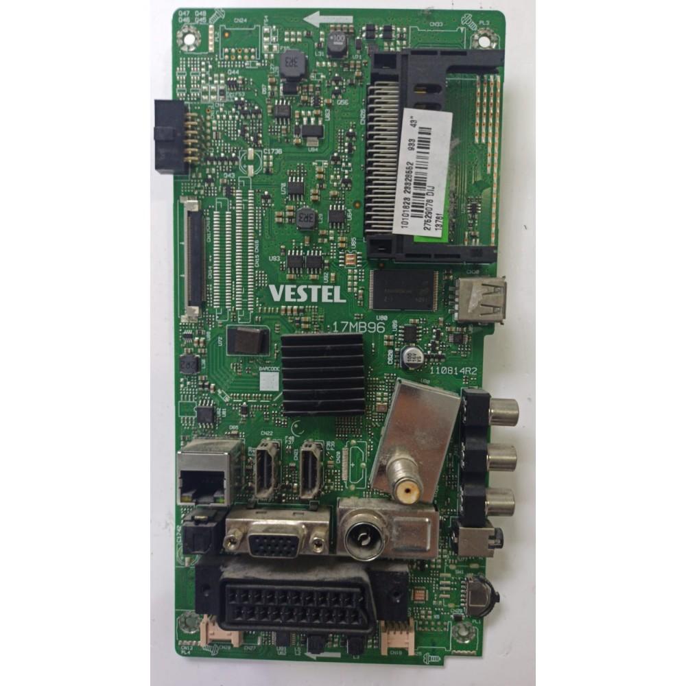 17MB96, 23328552, 23326560, 110814R2, VES430UNDL-2D-N01, VES430UNDL-2D-N12, SEG 43SC7600 43 SMART TV, Regal 43R6000FM