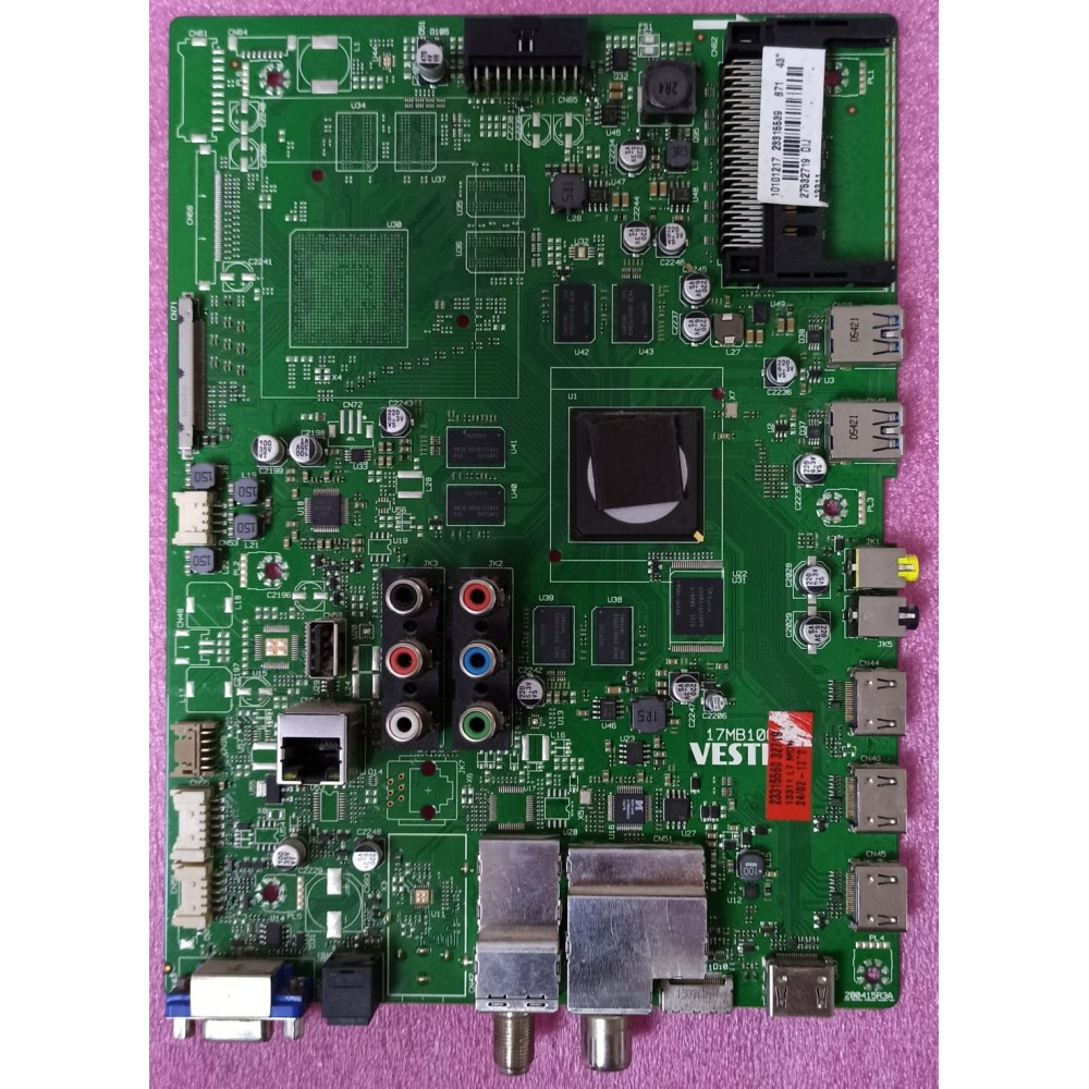 17MB100, 23315539, 23315560, VESTEL 43UA8900 Main Board, Ana Kart