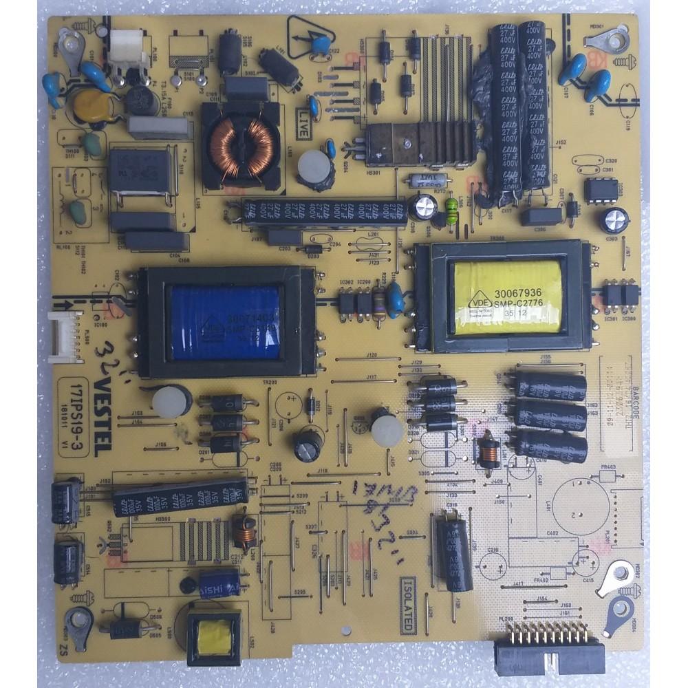 17IPS19-3, 23063946, VES315WNES-02, POWER BOARD