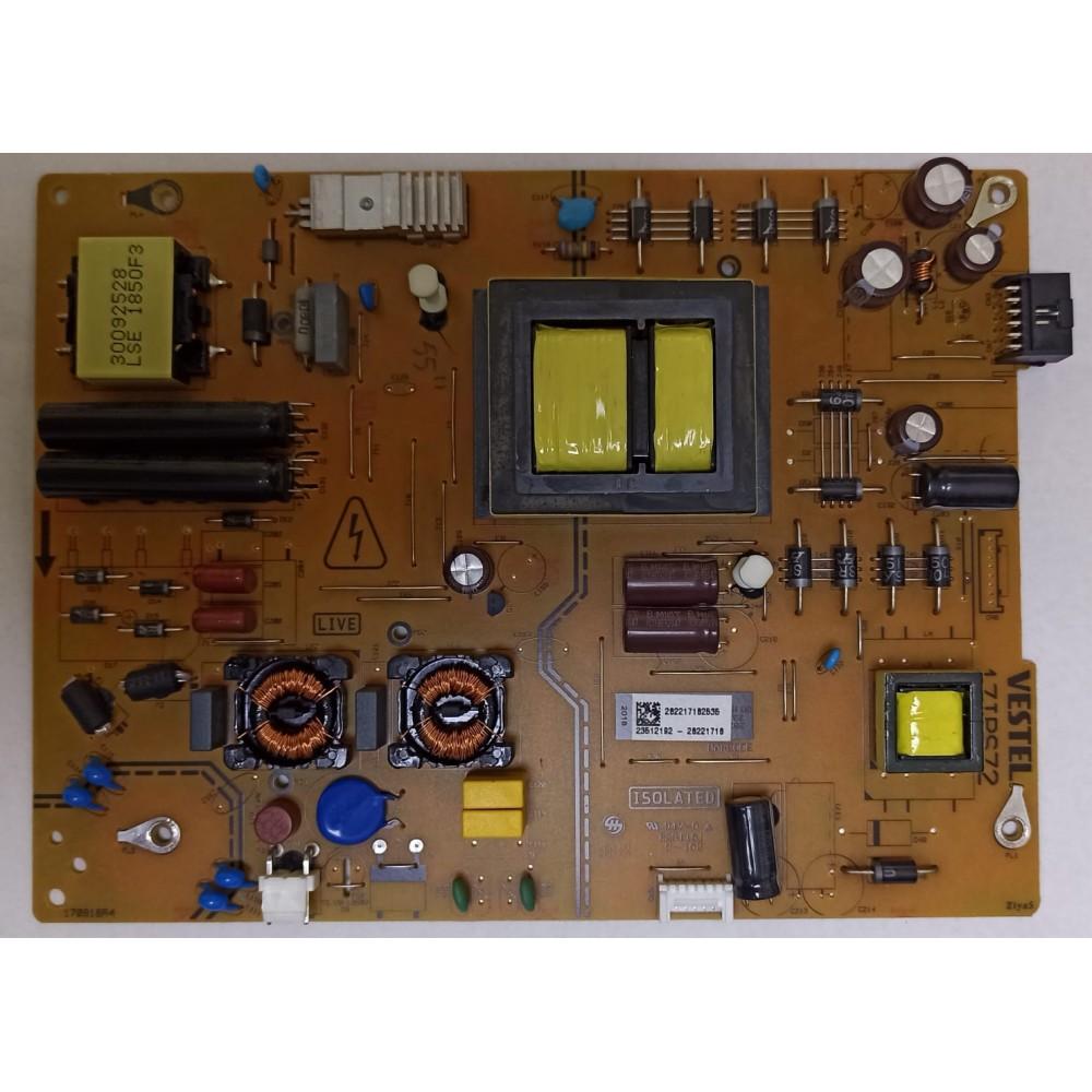 17IPS72, 23512192, VES550QNDS-2D-N41, LSC550FN11-V01, VESTEL 55UD8200, REGAL 55R7540U 55″ 4K SMART LED TV,BESLEME KARTI