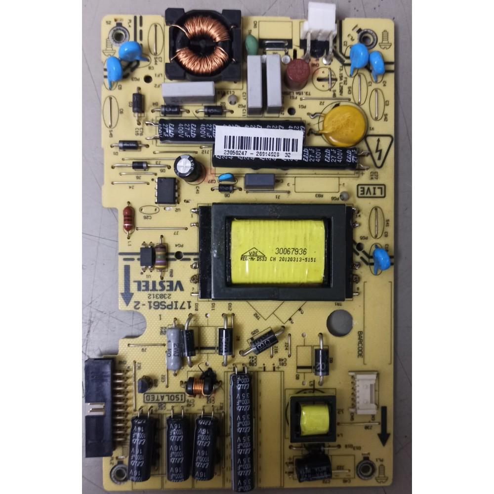 17IPS61-2, 23048357, Vestel 22PF5045, Besleme, M215HW03 V.1