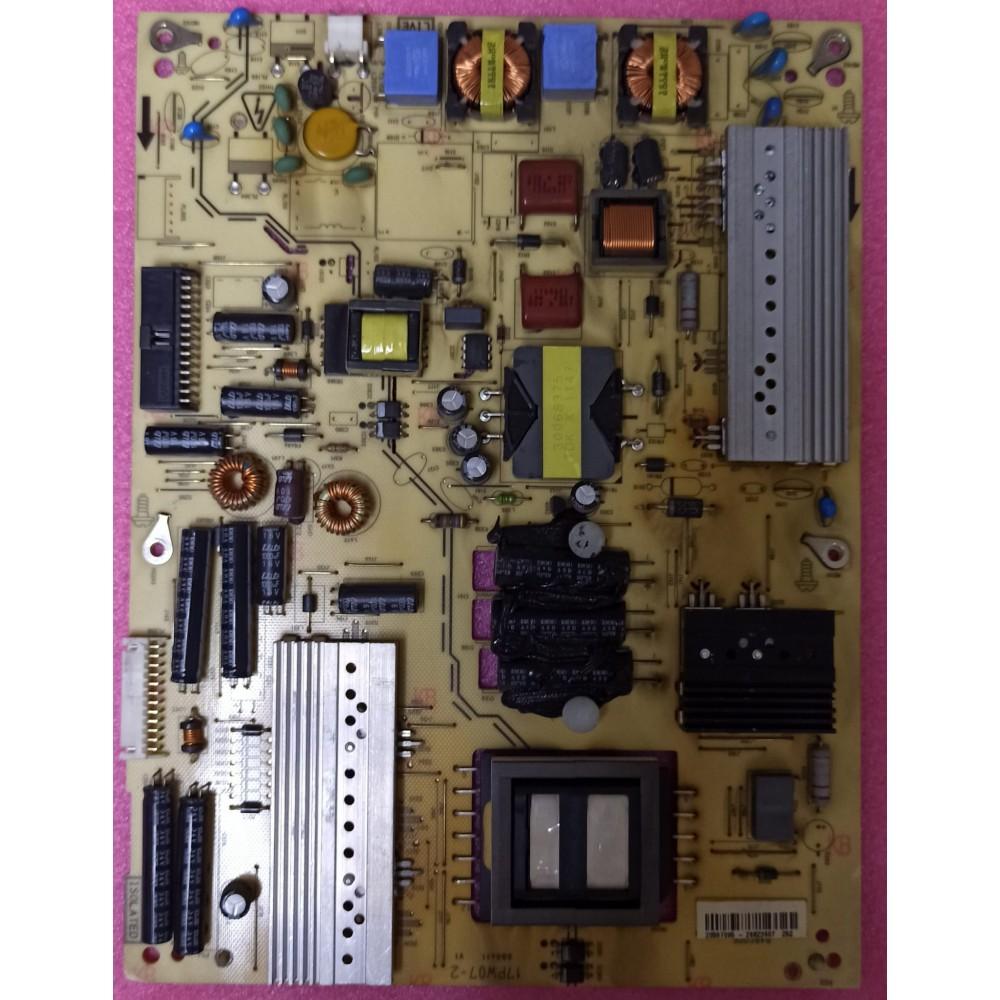 "17PW07-2, 20557095, LC420EUD, LED TV POWER BOARD, VESTEL SMART TV 42PF7017 42"" LED TV"